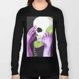 phone skull Long Sleeve T-shirt
