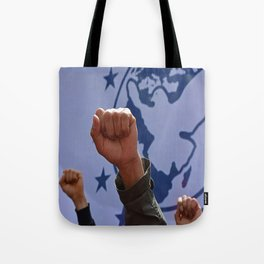 peaceful protest Tote Bag