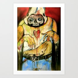 I'm Deep Inside Your Children, They'll Betray You In My Name Art Print