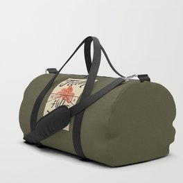 Freedom biker print Duffle Bag