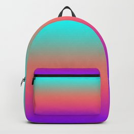 Sunset shades on the sea Backpack