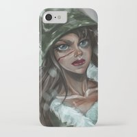 winter soldier iPhone & iPod Cases featuring Winter Soldier by Soggykitten™