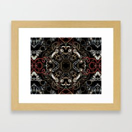 Chains and Jewelry Framed Art Print