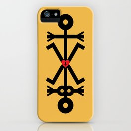 Making Love Icon iPhone Case