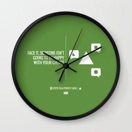 Perfect Logo Series (11 of 11) - Green Wall Clock