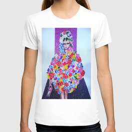 In Full Bloom On The Runway T-shirt