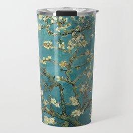 Van Gogh - Blossoming Almond Tree Travel Mug