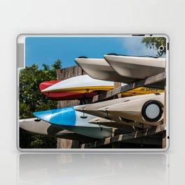 Beach Kayaks Laptop & iPad Skin
