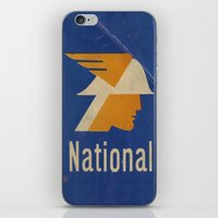 the national iPhone & iPod Skins featuring National Logo by Bruce Stanfield
