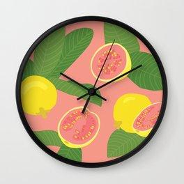 Guava Wall Clock
