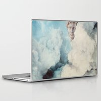 david fleck Laptop & iPad Skins featuring david by sharon