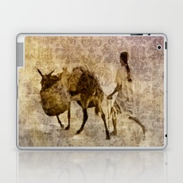 island tapestry Laptop & iPad Skin