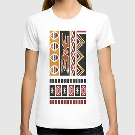 African Tribal Pattern No. 20 T-shirt