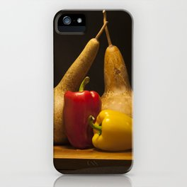 Vegetable Still life iPhone Case