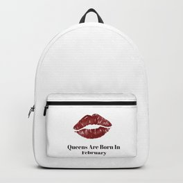 Queens Are Born In December Backpack