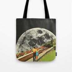 Moonwalk love Tote Bag