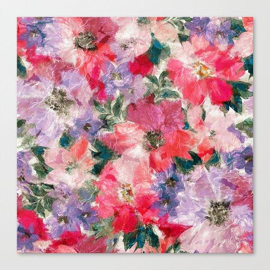 Splendid Flowers 2 Canvas Print
