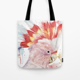 """Watercolor Painting of Picture """"Inca Cockatoo"""" Tote Bag"""