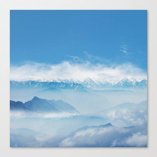 Magic in the Clouds II Canvas Print