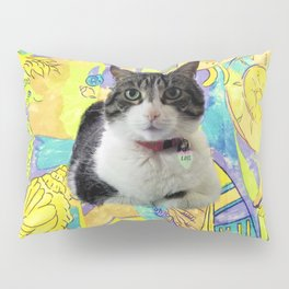 Zoe In Feline Seafare Delight Pillow Sham