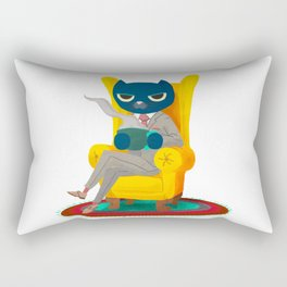 Welcome. Meow. Rectangular Pillow