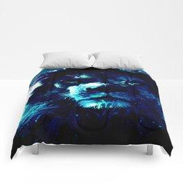 Galaxy Lion Comforters