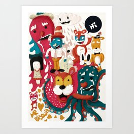 Doodle No. 1 Art Print