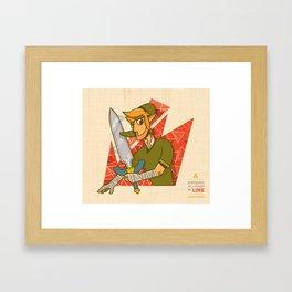 Link | Nintendo All-Stars #1 Framed Art Print