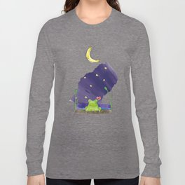 The frog and the moon Long Sleeve T-shirt