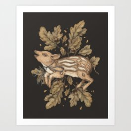 Almost Wild, Foundling Art Print