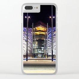 Belfast Maritme Quarters Clear iPhone Case