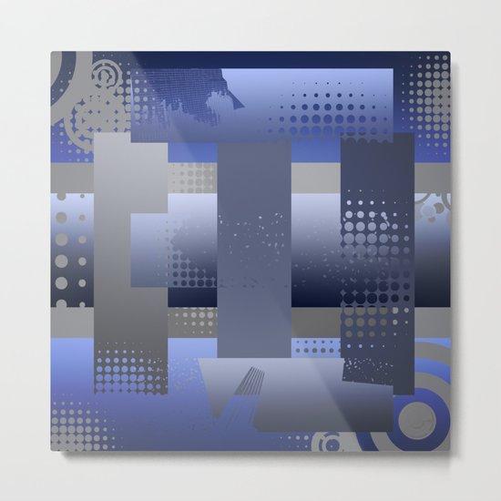 Squared Metal Print