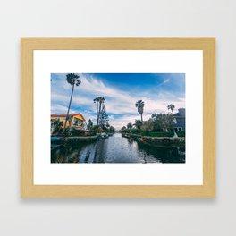 Venice Beach, Los Angeles Framed Art Print