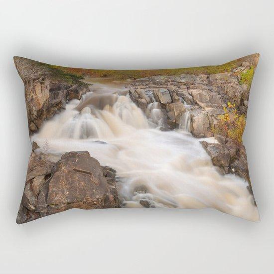 Great Falls Autumn Cascades Rectangular Pillow