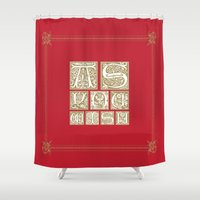 princess bride Shower Curtains featuring The Princess Bride by MacGuffin Designs