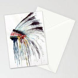 Indian Headress Stationery Cards