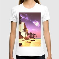 pirate ship T-shirts featuring Pirate ship  by nicky2342