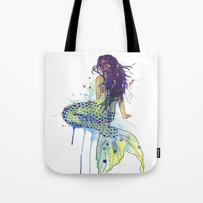 7d58a93a4d73 Mermaid Tote Bag by samnagel