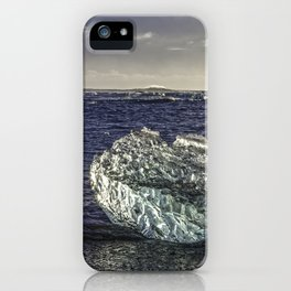 Jokulsarlon Lagoon Beach 02 iPhone Case