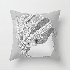 A TRIBE CALLED WOMEN Throw Pillow