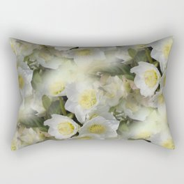 flowers -12- seamless pattern Rectangular Pillow