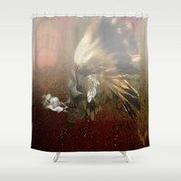 indian Shower Curtains featuring indian by karens designs