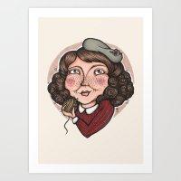 Mollywobbles Art Print