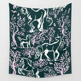 Unicorn Woodland Wall Tapestry