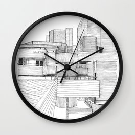 National Theatre London Wall Clock