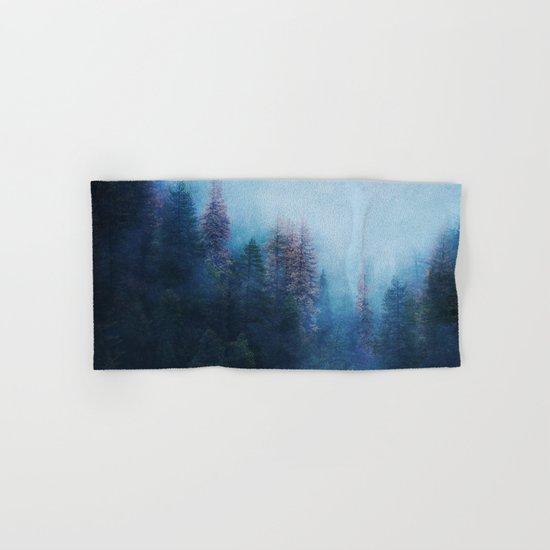 Dreamy Winter Forest Hand & Bath Towel