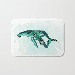Coral Reef Humpback Whale Bath Mat