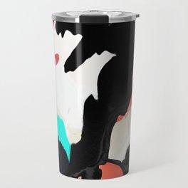 Painted on my cow Travel Mug