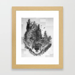 The Wild and the Wilderness II Framed Art Print