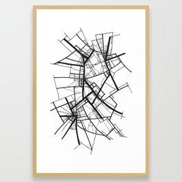 Suspension (Fractal Scaffold series #2) Framed Art Print
